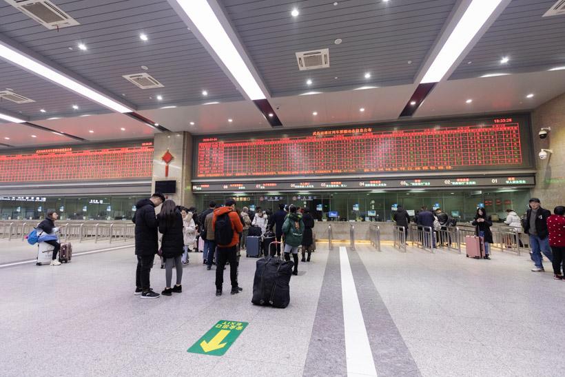 ついに大都市武漢へ Day19 2020.1.4